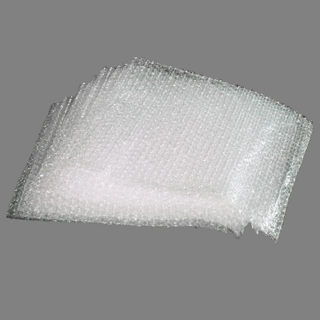 Clear Bubble Pouches 12″