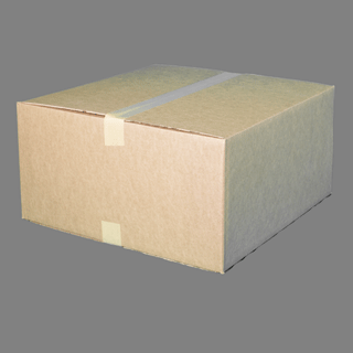 Shipping Box, 20″x20″x10″, Single Wall
