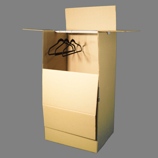 Wardrobe Box with Bar 24″
